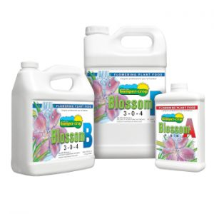 Blossom-A+B for use with LED Grow Lights, Hydroponics or Indoor Gardening
