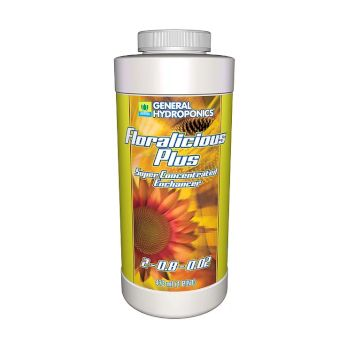 Floralicious Plus for use with LED Grow Lights, Hydroponics or Indoor Gardening