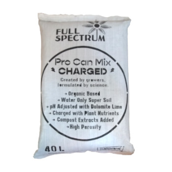 Full Spectrum Living Soil for use with LED Grow Lights, Hydroponics or Indoor Gardening