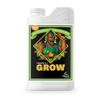 PH-Perfect-Grow by Advanced Nutrients for use with LED Grow Lights, Hydroponics or Indoor Gardening