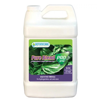 Botanicare Pure Blend Pro Grow for use with LED Grow Lights, Hydroponics or Indoor Gardening