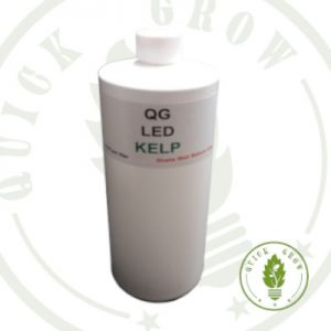 Quick Grow Liquid Kelp for use with LED Grow Lights, Hydroponics or Indoor Gardening