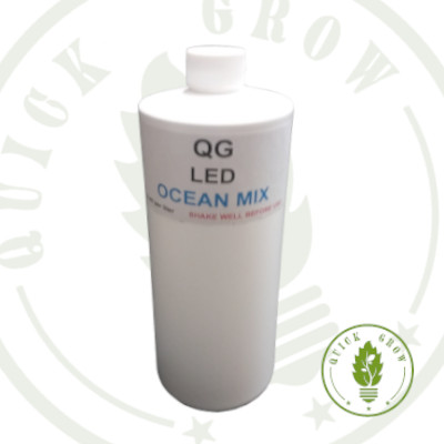 Quick Grow Ocean Mix for use with LED Grow Lights, Hydroponics or Indoor Gardening