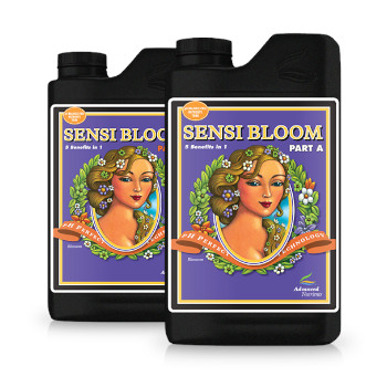 Sensi-Bloom-A+B by Advanced Nutrients for use with LED Grow Lights, Hydroponics or Indoor Gardening