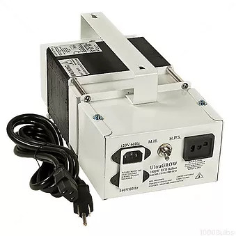 1000w HPS-MH Ultragrow ECO for use with High Pressure Sodium or Metal Halide lighting systems, Hydroponics or Indoor Gardening