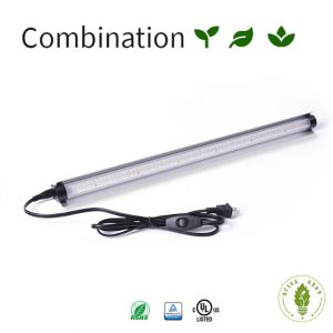 Combination LED Grow Light, Hydroponics or Indoor Gardening