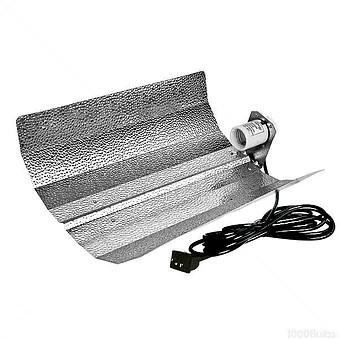 Ultragrow Batwing Shade for use with High Pressure Sodium or Metal Halide lighting systems, Hydroponics or Indoor Gardening